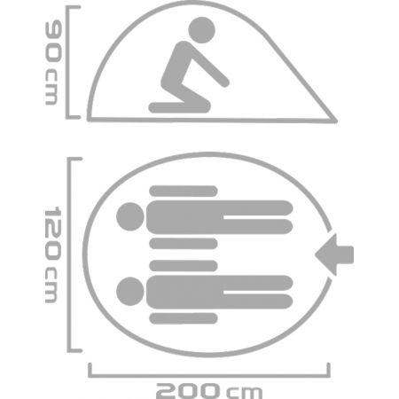 Stanový přístřešek - Crossroad FLIPER - 3