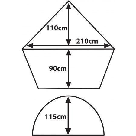 Stanový prístrešok - Crossroad SPRING - 2