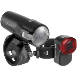 AXA COMPACTLINE 20 USB + REAR - Set of front and rear bike lights
