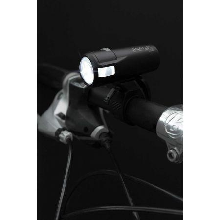 Vorder- und Rücklicht für das Fahrrad - AXA COMPACTLINE 20 USB + REAR - 2