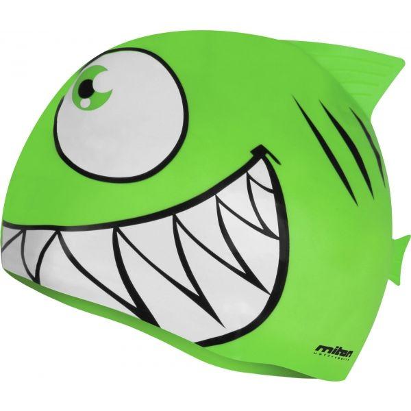 Miton FISHCAP zielony NS - Czepek pływacki
