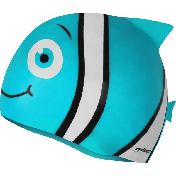 Miton FISHCAP niebieski NS - Czepek pływacki