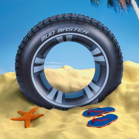 Надуваем пояс - Bestway MUD MASTER SWIM RING - 2