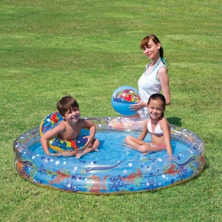 58x10 Play Pond Pool Set - Pool set - Bestway 58x10 Play Pond Pool Set