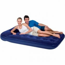 Bestway EASY INFLATE FLOCKED AIR - Inflatable bed - double bed - Bestway