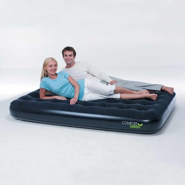 Bestway COMFORT GREEN FLOCKED AIR   - Nafukovací postel - dvojlůžko - Bestway