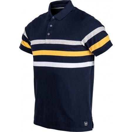 Tricou cu guler pentru bărbați - Willard WILEM - 2