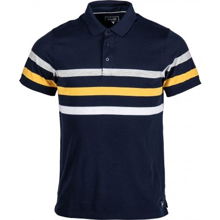 Tricou cu guler pentru bărbați - Willard WILEM - 1