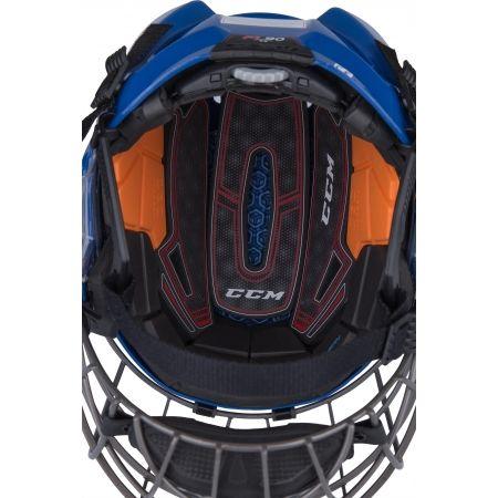Hockey Helm - CCM FITLITE 90 COMBO SR - 2