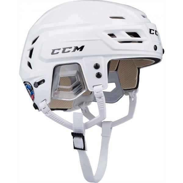 CCM TACKS 110 SR bílá (57 - 62) - Hokejová helma