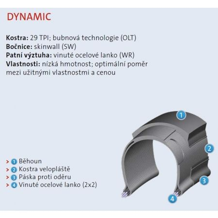 Anvelopă bicicletă - Mitas OCELOT 29 x 2,10 - 2