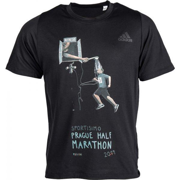 adidas FL SPR A PR CLT černá M - Pánské sportovní tričko