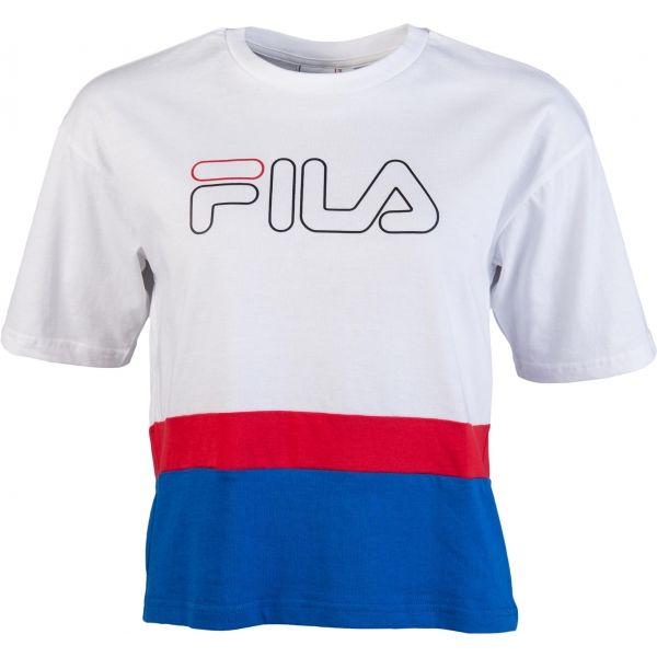 Fila MIRANDA WIDE TEE biela S - Dámske tričko
