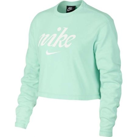 Dámska mikina - Nike NSW CREW CROP WSH - 1