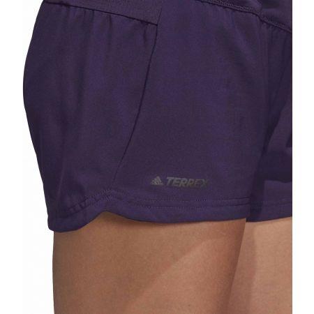 Women's sports shorts - adidas W TRAIL SHORT - 8