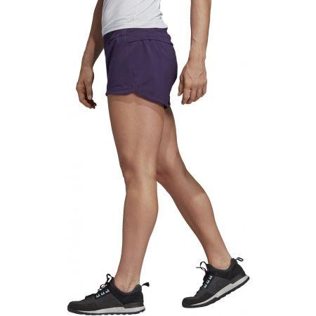 Women's sports shorts - adidas W TRAIL SHORT - 4