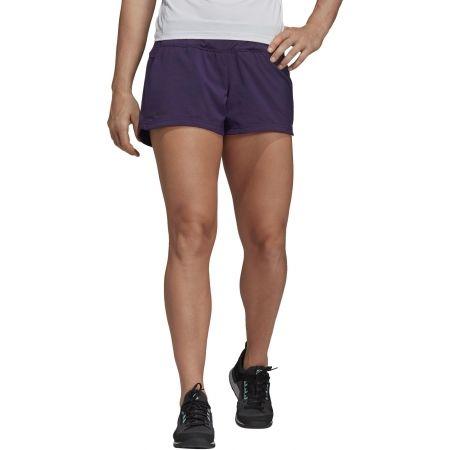 Women's sports shorts - adidas W TRAIL SHORT - 3