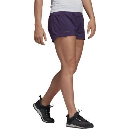 Women's sports shorts - adidas W TRAIL SHORT - 5