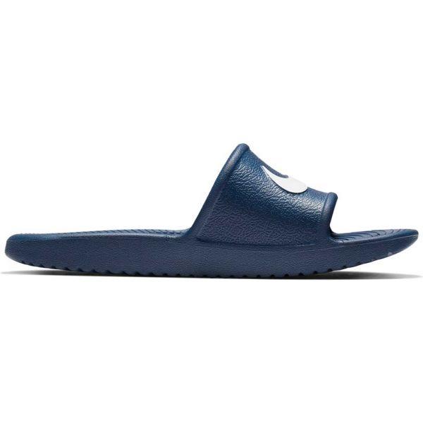 Nike KAWA SHOWER GS modrá 7 - Dětské pantofle