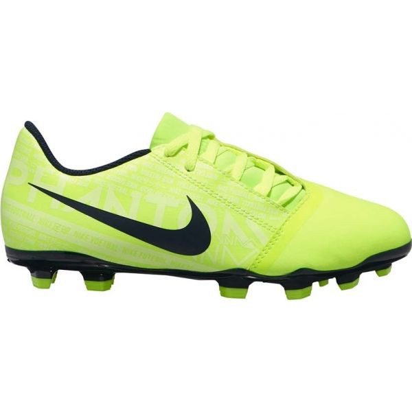 Nike JR PHANTOM VENOM CLUB FG světle zelená 2.5Y - Dětské kopačky