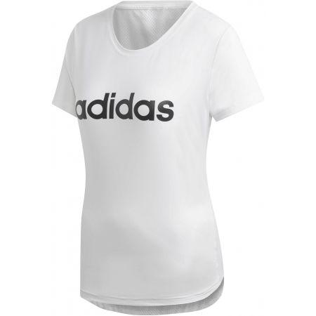 adidas W D2M LO TEE | sportisimo.cz