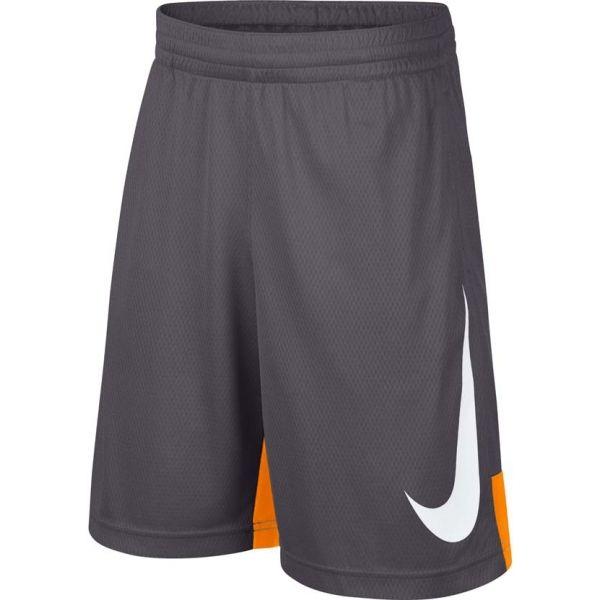 Nike B M NP DRY SHORT HBR szürke S - Fiú sportalsó