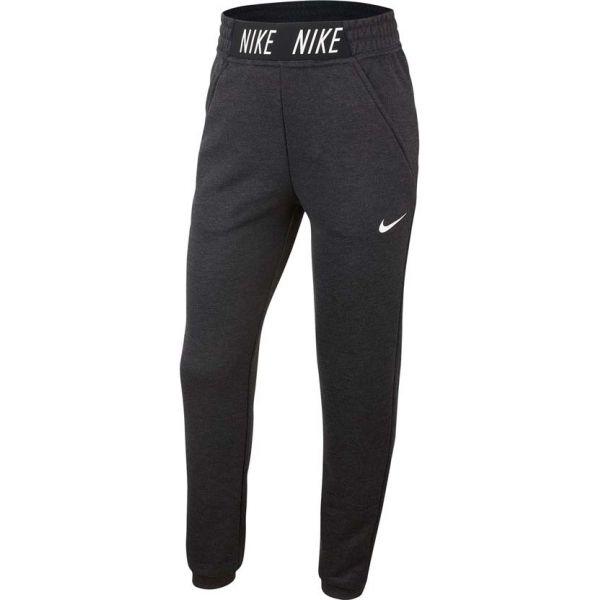 Nike PANT STUDIO tmavě šedá L - Dívčí tepláky