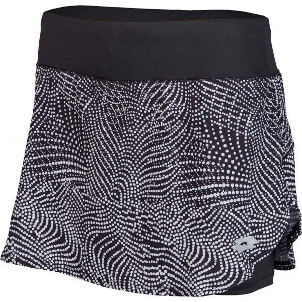Lotto X-RUN SKIRT PRT PL W černá L - Dámská sportovní sukně