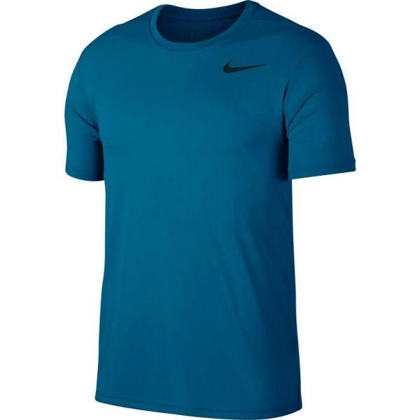 Nike SUPERSET TOP SS kék XL - Férfi póló