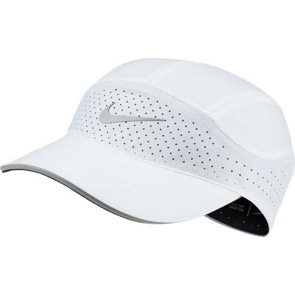 Nike AROBILL TLWD CAP ELITE bílá misc - Běžecká kšiltovka