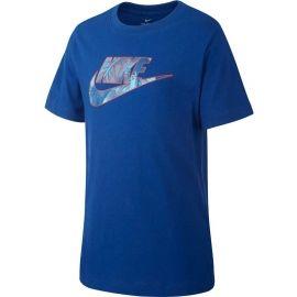 Nike B NSW TEE FUTURA FILL - Tricou pentru băieți