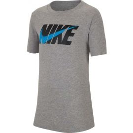 Nike NSW TEE SWOOSH BLOCK - Boys' T-shirt