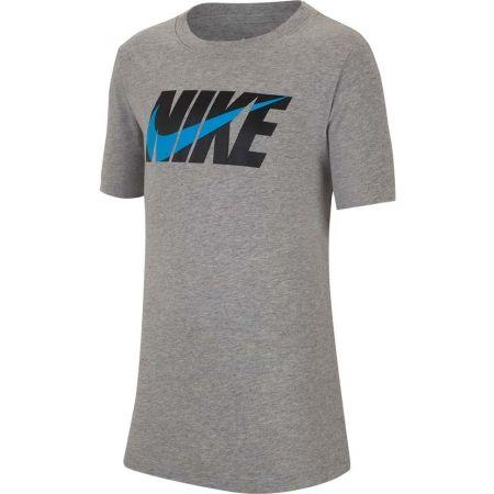 Nike NSW TEE SWOOSH BLOCK - Chlapčenské tričko