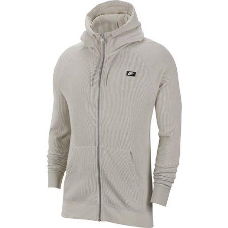 69911aa2c3 Férfi pulóver - Nike NSW ME HOODIE FZ WAFLE - 1