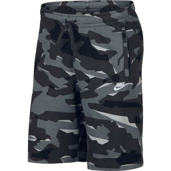 Nike NSW CLUB CAMO SHORT FT  M - Pánské kraťasy