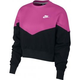 Nike NSW HRTG CREW FLC - Дамски суитшърт