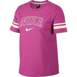 Nike NSW TOP SS VRSTY - Tricou damă