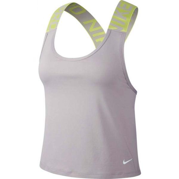 Nike NP INTERTWIST 2.0 ELSTKA TNK šedá M - Dámské tílko