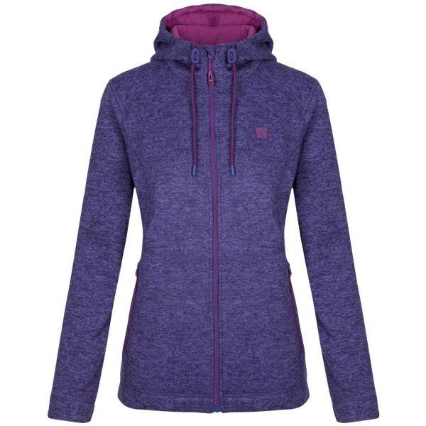 Loap GRAIS fialová XS - Dámský outdoorový svetr