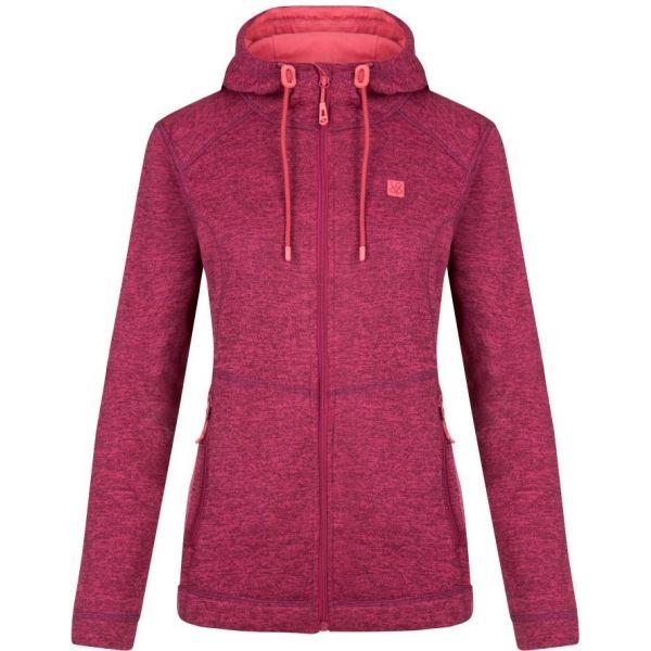 Loap GRAIS růžová XL - Dámský outdoorový svetr
