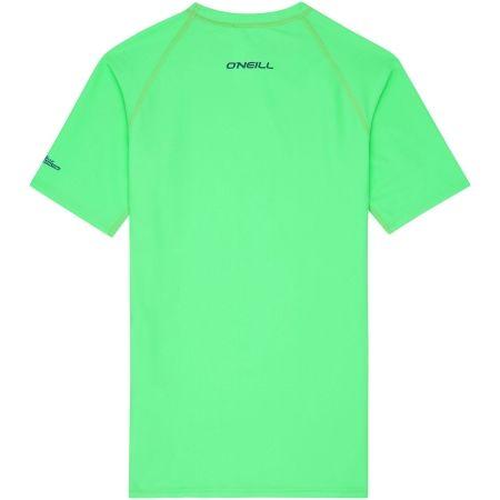 Chlapčenské kúpacie tričko s UV filtrom - O'Neill PB LOGO SHORT SLEEVE SKINS - 2