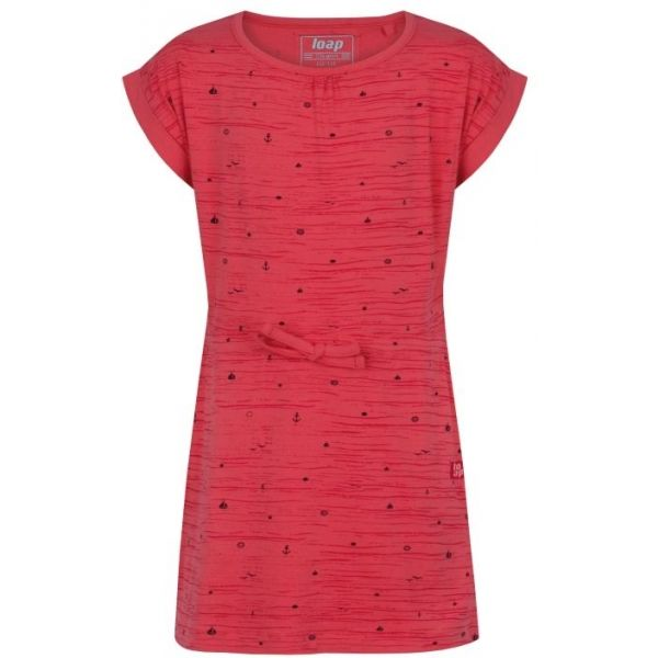 Loap ALINA rózsaszín 146-152 - Lány ruha