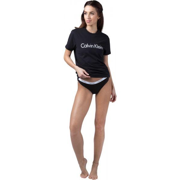 Calvin Klein S/S CREW NECK čierna XS - Dámske tričko