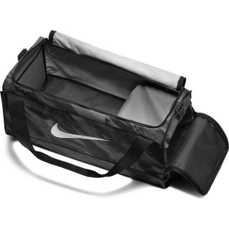 Tréninková sportovní taška - Nike BRASILIA M DUFF - AOP - 3