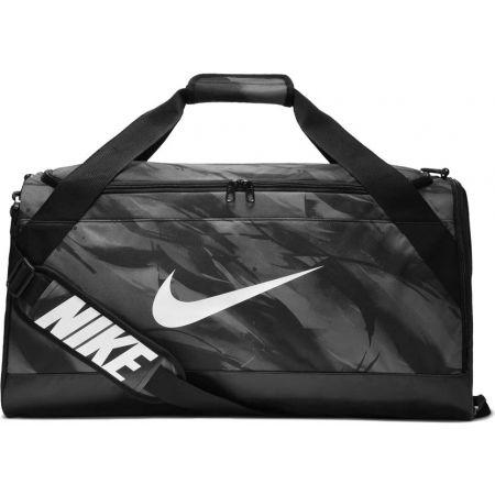 Tréninková sportovní taška - Nike BRASILIA M DUFF - AOP - 1