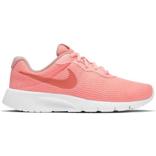 Nike TANJUN GS pomarańczowy 3.5Y - Obuwie miejskie dziewczęce