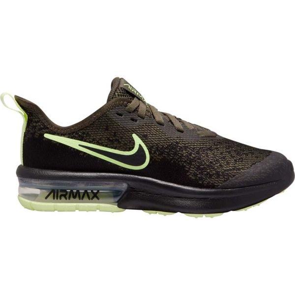 Nike AIR MAX SEQUENT 4 ciemnozielony 3.5Y - Obuwie miejskie dziecięce