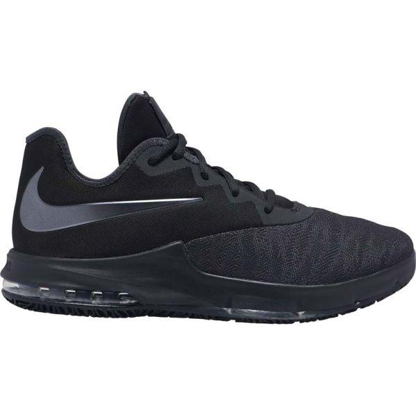 Nike AIR MAX INFURIATE III LOW čierna 12.5 - Pánska basketbalová obuv