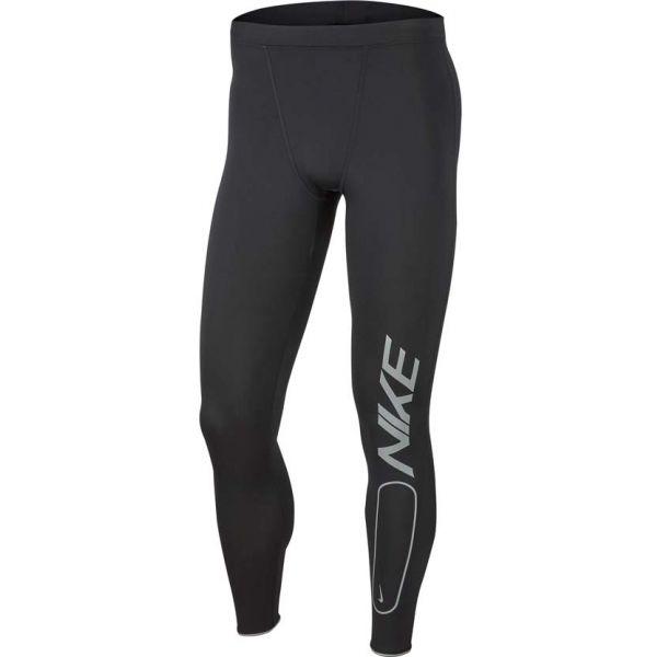 Nike RUN MOBILITY TIGHT FLASH černá L - Pánské běžecké legíny