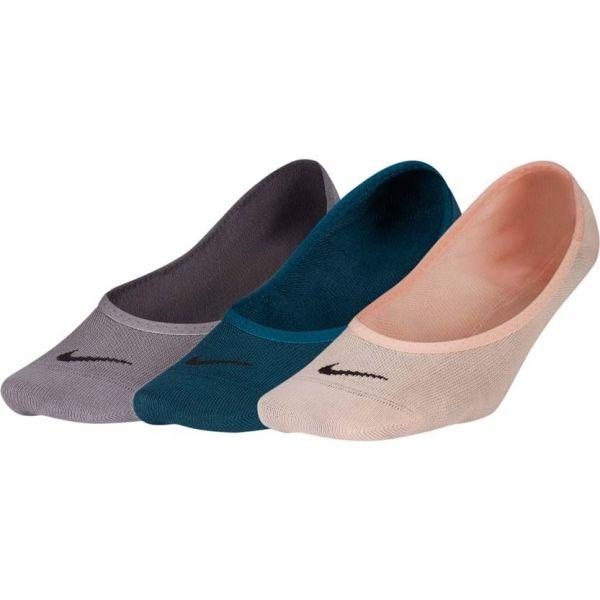 Nike 3PPK WOMEN'S LIGHTWEIGHT FOOTI modrá M - Ponožky